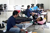 Jhonlin Group, Donor Darah, PMI Tanah Bumbu, RS Marina Permata
