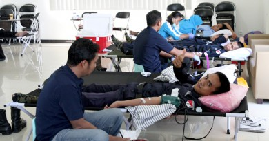 Donor Darah Bersama Jhonlin Group