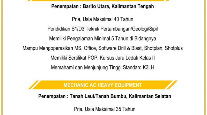 Jhonlin Group, PT. Jhonlin Baratama, h isam, h isam batulicin, haji sam, batulicin, Tanah Bumbu, Kalimantan Selatan, lowongan kerja